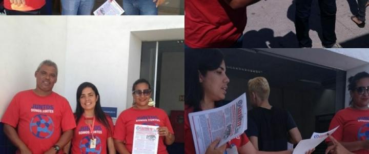 Trabalhadores da Alma Viva apreciam propostas para Acordo Coletivo